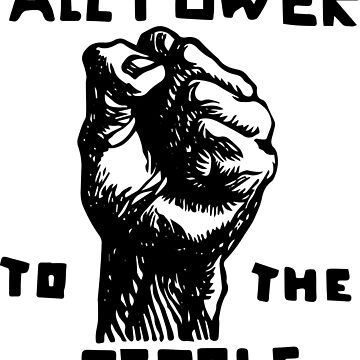 All Power To the People | African American | Black History by UrbanApparel