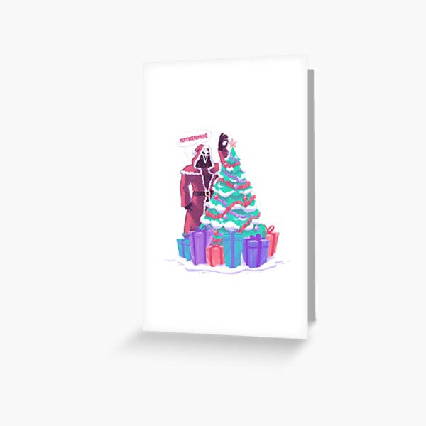 Reap-ositioning Greeting Card