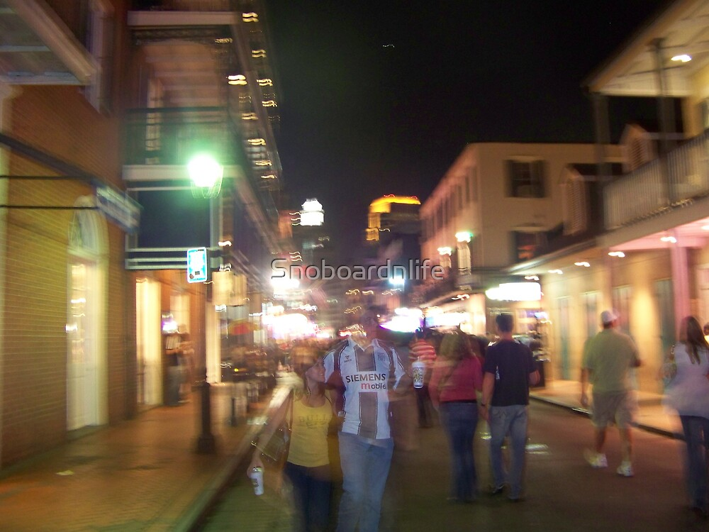 Ghosts On Bourbon #2 by Snoboardnlife