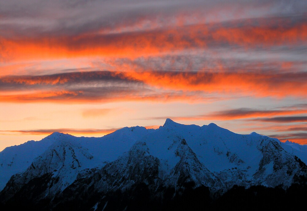 Seward Sunset by Virginia Maguire
