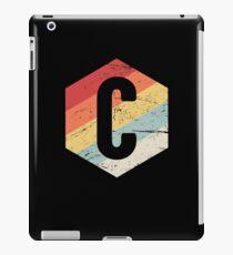 Retro C Programming Language Icon iPad Case/Skin
