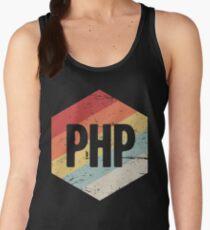 Retro PHP Programming Language Icon Women's Tank Top