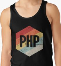 Retro PHP Programming Language Icon Tank Top