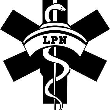 Lpn Nurses Medical Symbol Graphic T Shirt By Bonfiredesigns Redbubble