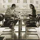 Table for three by elsilencio