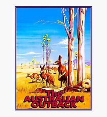 AUSTRALIAN OUTBACK : Vintage Advertising Print Photographic Print