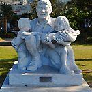 THE CROCODILE HUNTER AND HIS CHILDREN - Steve Irwin by Margaret Stevens