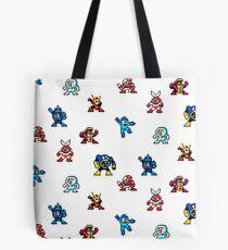 Megaman bosses Tote Bag