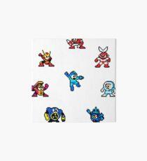 Megaman bosses Art Board
