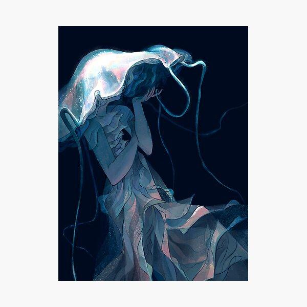 Pearl Jellyfish Photographic Print