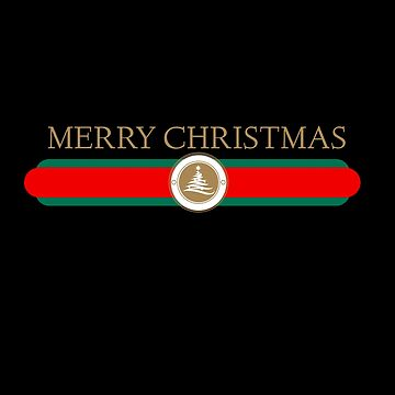 Merry Christmas Shirt Design logo by RAMIDESGIN