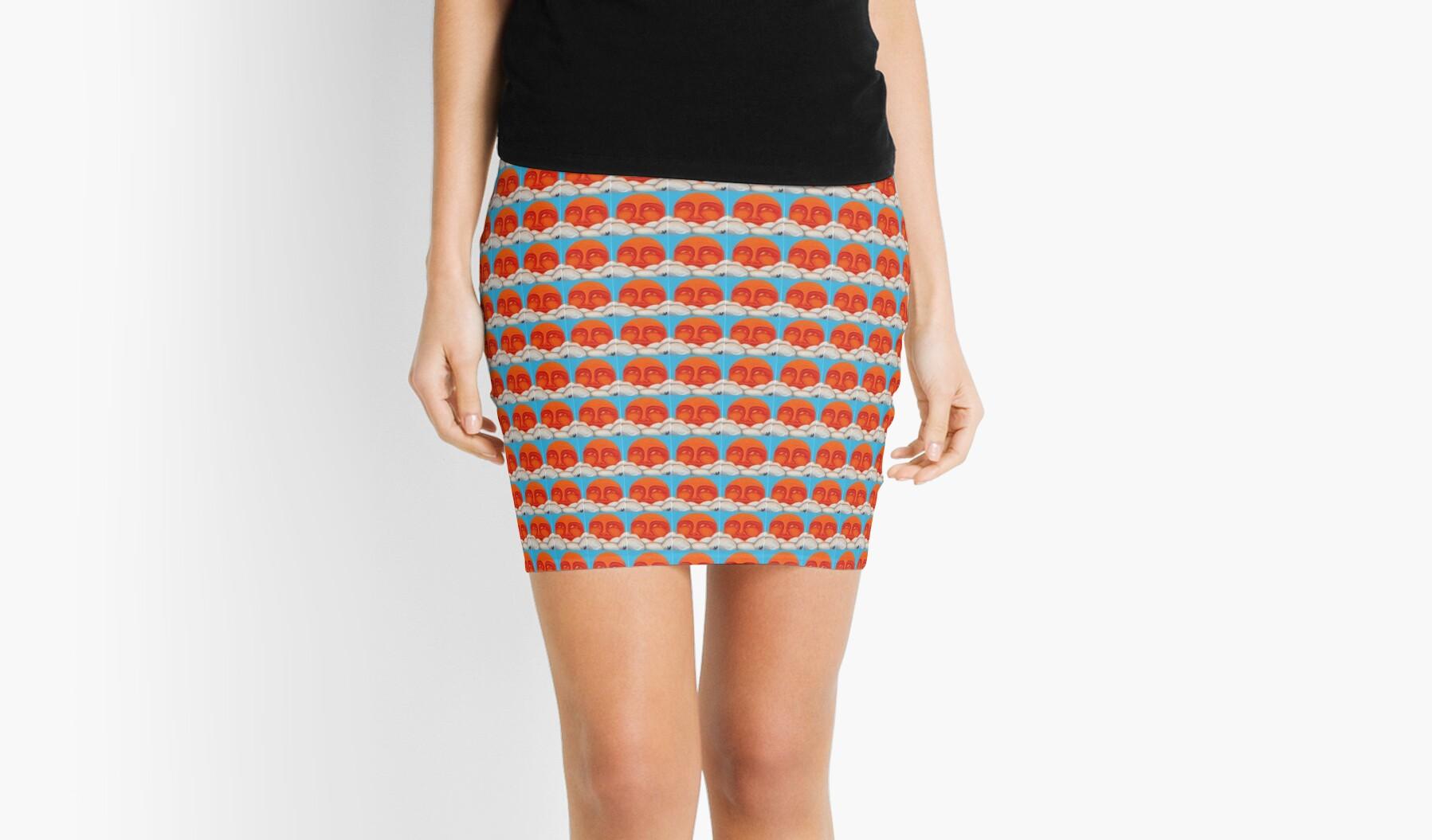 'Celestial 2016 #1' Mini Skirt