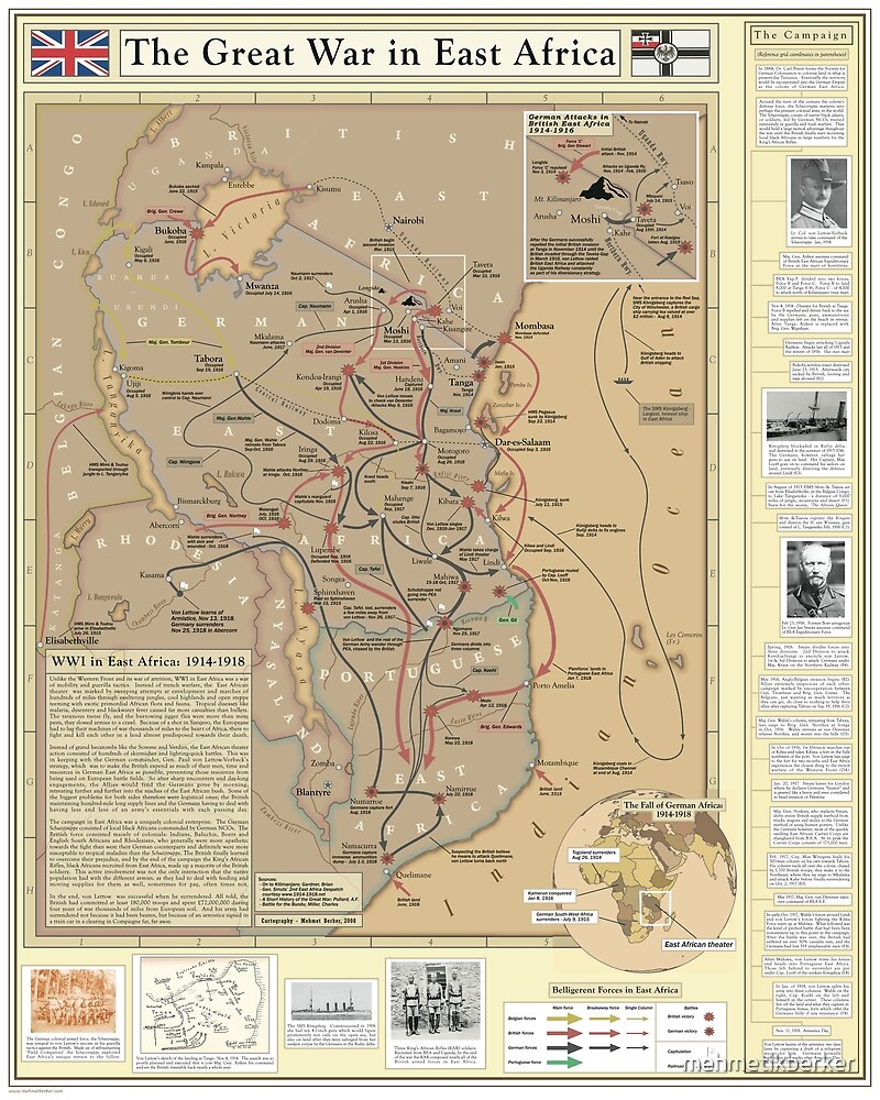 The Great War in East Africa by mehmetikberker