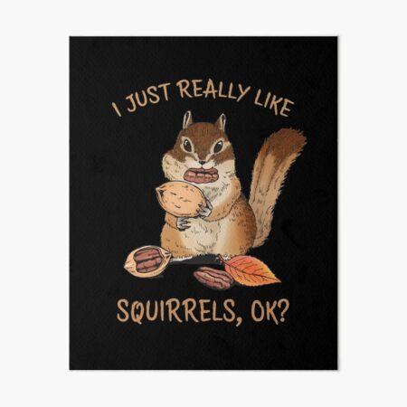 Congratulations card Squirrel writes