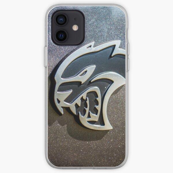 Dodge Hellcat emblem  iPhone Soft Case