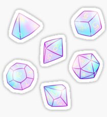 Dice set stickers Sticker