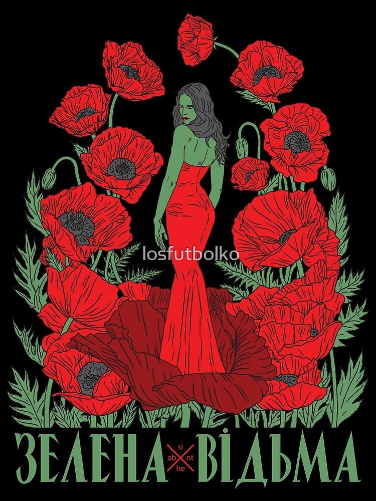 Absinthe Green Witch by losfutbolko