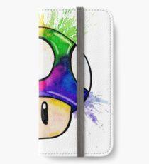 Exploding Mushroom iPhone Wallet/Case/Skin