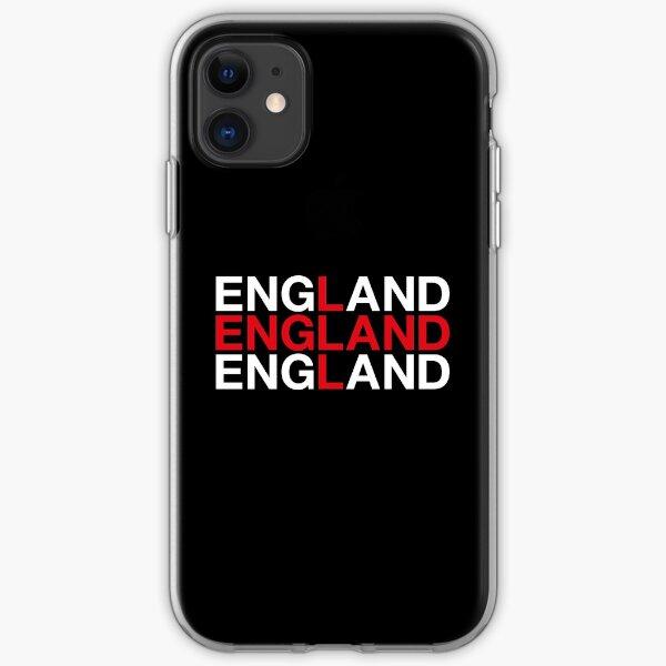 ENGLAND Union Jack Flag iPhone Soft Case