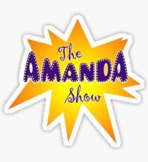 Amanda Show Logo Sticker