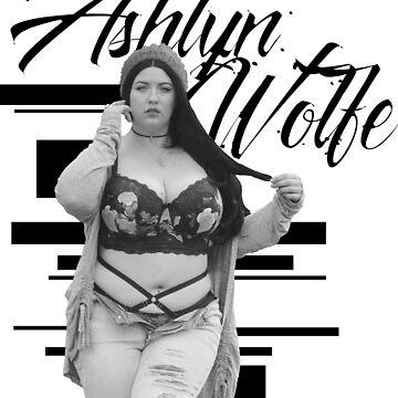 Ashlyn - Ripped Jeans Portrait B&W by GypsyFuzzDesign
