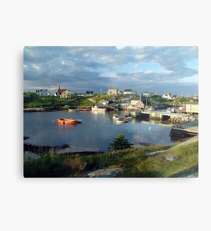 Peggy's Cove evening Metal Print