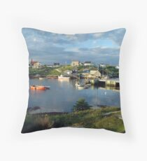 Peggy's Cove evening Throw Pillow