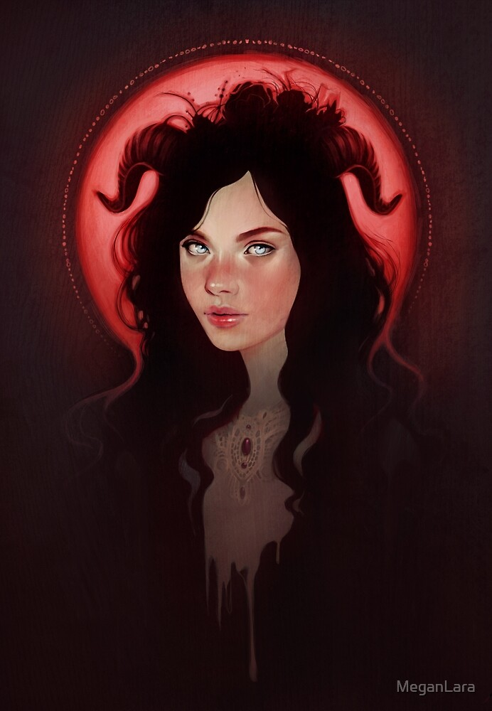 Blood Moon by MeganLara