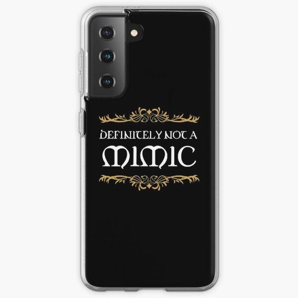 Definitely not a Mimic Tabletop RPG Addict Samsung Galaxy Soft Case