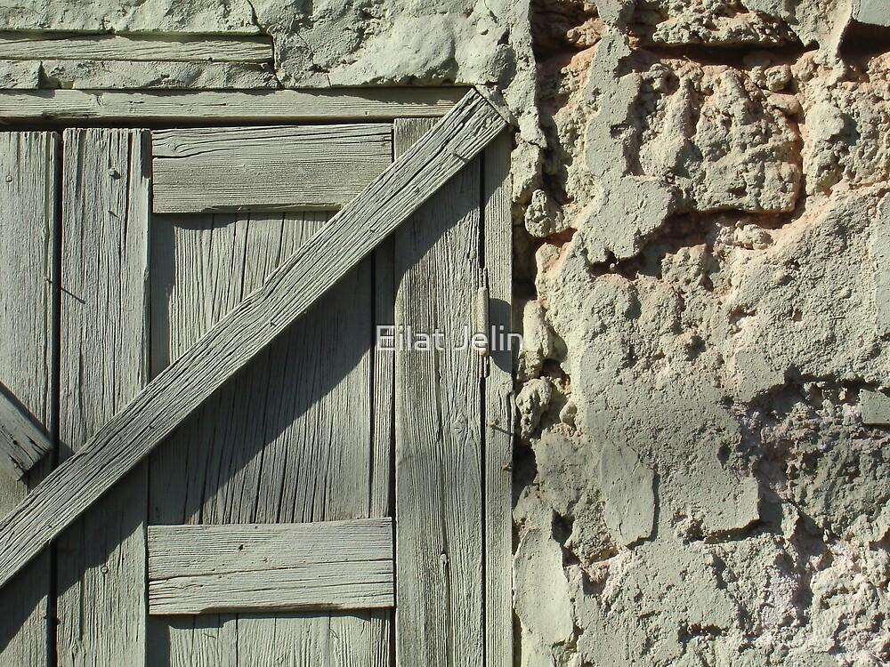 Closed Door by Eilat Jelin