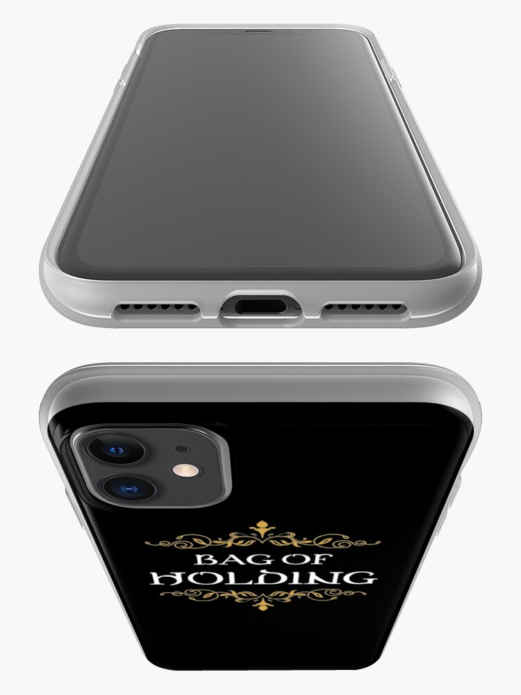 Alternate view of Bag of Holding Tabletop RPG Addict iPhone Case & Cover