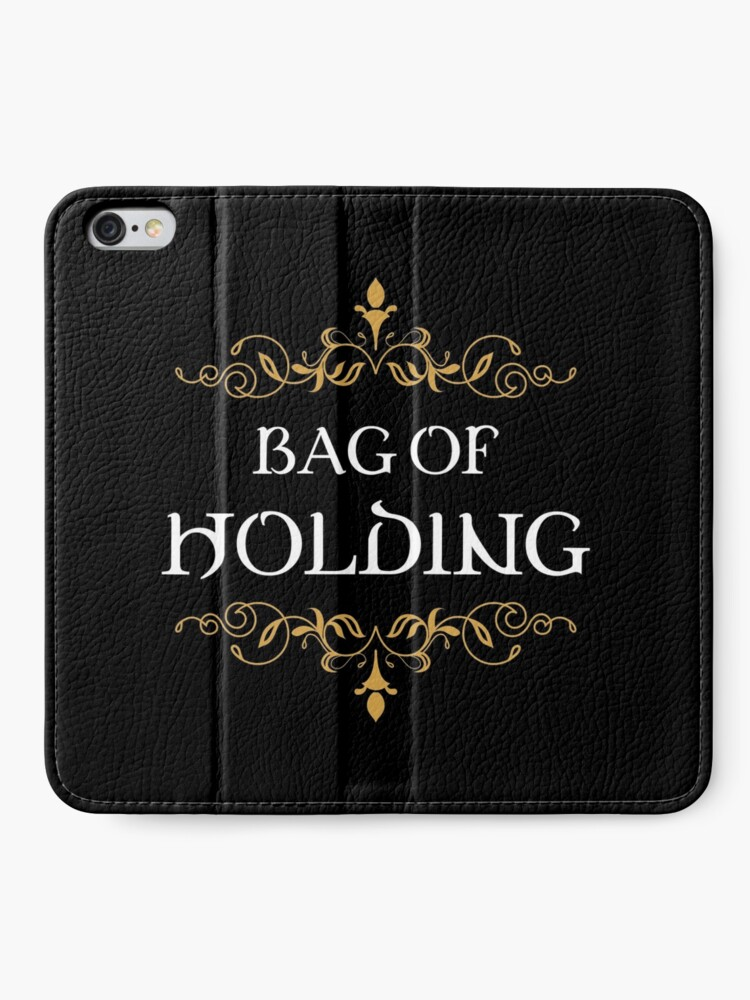 Alternate view of Bag of Holding Tabletop RPG Addict iPhone Wallet
