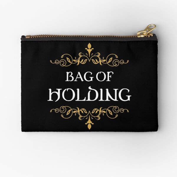 Bag of Holding Tabletop RPG Addict Zipper Pouch