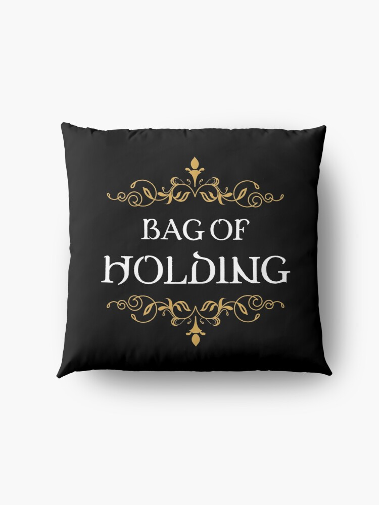Alternate view of Bag of Holding Tabletop RPG Addict Floor Pillow