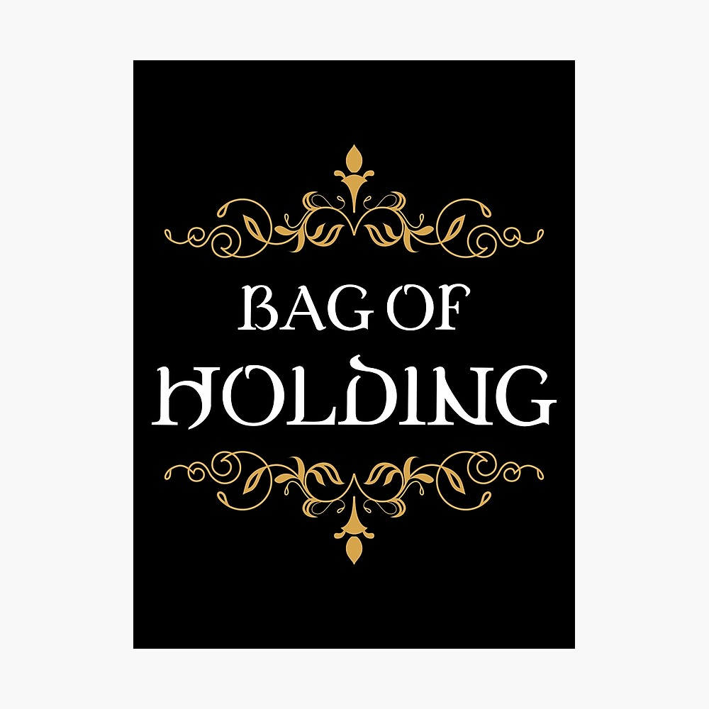 Bag of Holding Tabletop RPG Addict Photographic Print