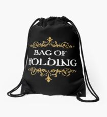 Bag of Holding Tabletop RPG Addict Drawstring Bag