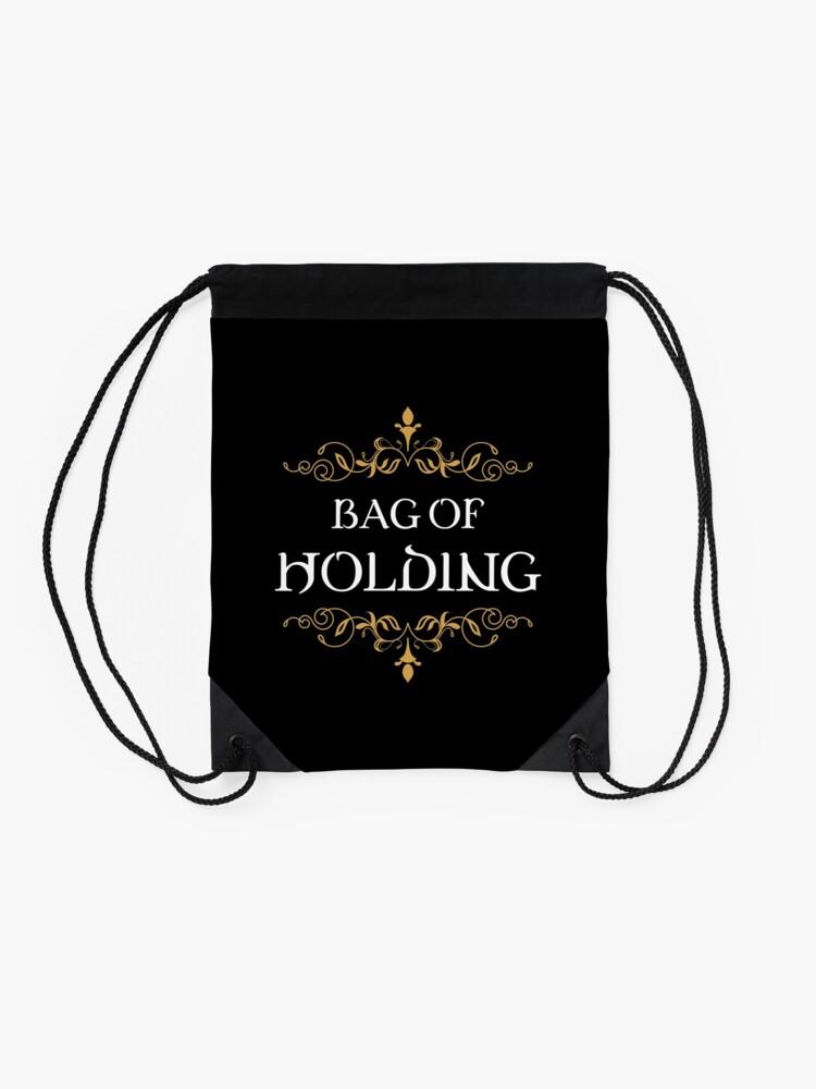Alternate view of Bag of Holding Tabletop RPG Addict Drawstring Bag