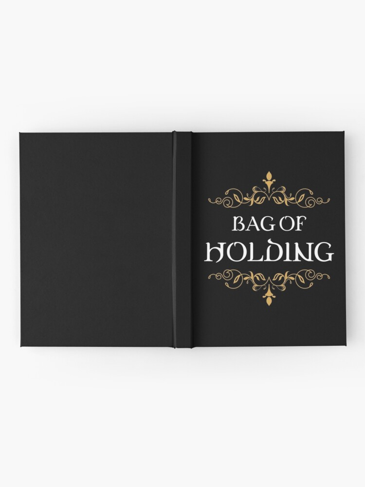 Alternate view of Bag of Holding Tabletop RPG Addict Hardcover Journal