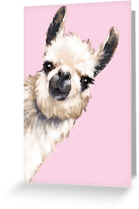 Sneaky Llama by bignosework