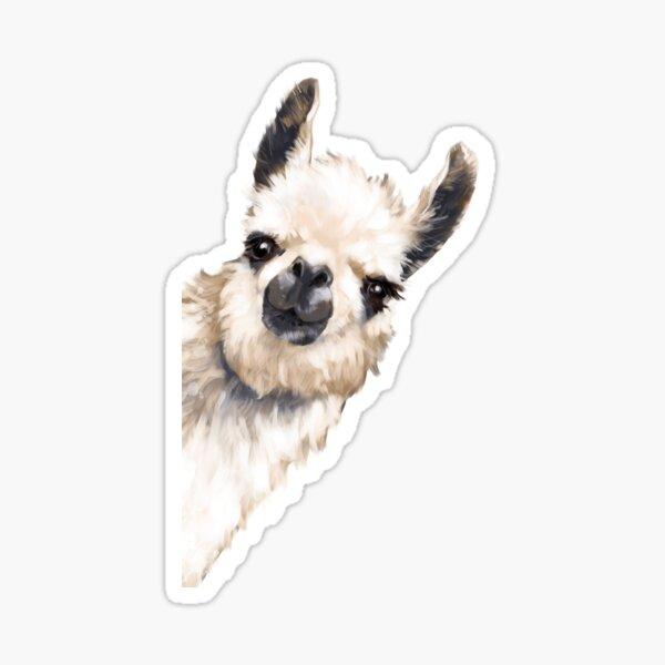 Sneaky Llama Sticker