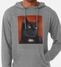 black cat kitten  Lightweight Hoodie