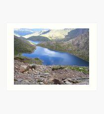 Snowdon North Wales Art Print