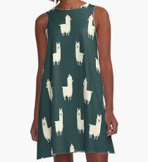 Lamas A-Linien Kleid