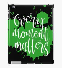 capture each moment they all precious iPad Case/Skin