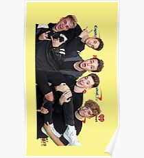 why dont we  colloge Poster
