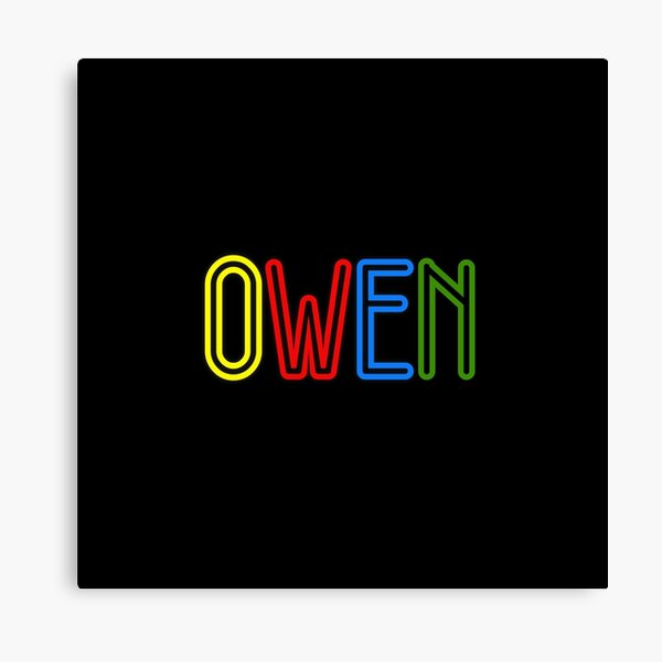 Owen - Your Personalised Products Canvas Print