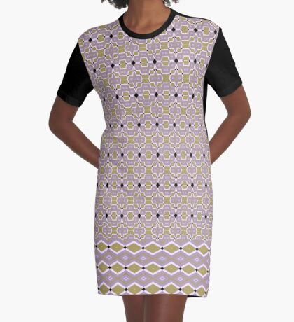 Date Night In Diamonds Graphic T-Shirt Dress