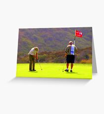 Forteenth Hole at Torrey Pines U.S. Open Greeting Card