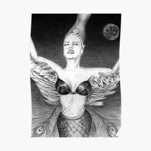 Retrato de Monica Naranjo - Diosa mítica Póster