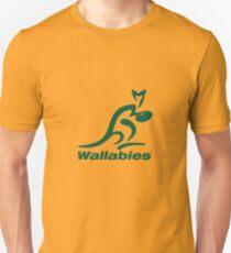 Wallabies Rugby Logo Unisex T-Shirt